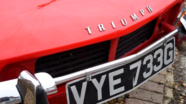 1968 Triumph Spitfire Mk. III For Sale (picture 50 of 131)