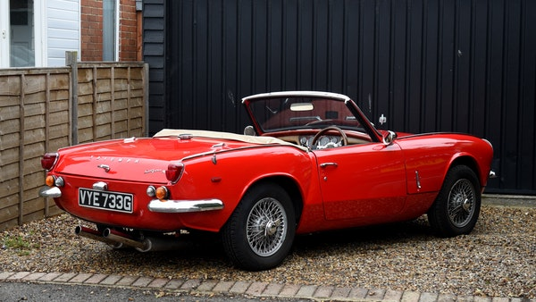 1968 Triumph Spitfire Mk. III For Sale (picture 8 of 131)