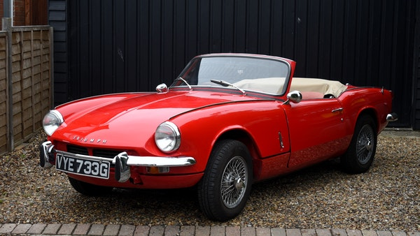 1968 Triumph Spitfire Mk. III For Sale (picture 1 of 131)
