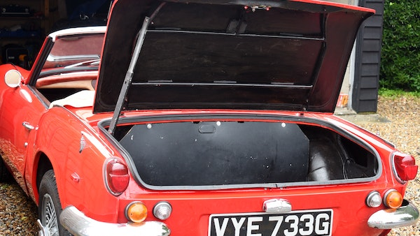 1968 Triumph Spitfire Mk. III For Sale (picture 102 of 131)