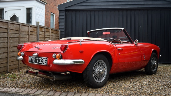 1968 Triumph Spitfire Mk. III For Sale (picture 9 of 131)