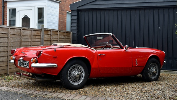 1968 Triumph Spitfire Mk. III For Sale (picture 7 of 131)