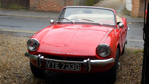 1968 Triumph Spitfire Mk. III For Sale (picture 5 of 131)