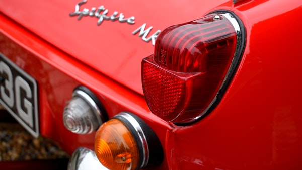 1968 Triumph Spitfire Mk. III For Sale (picture 76 of 131)