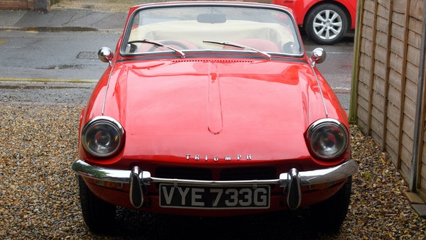 1968 Triumph Spitfire Mk. III For Sale (picture 4 of 131)