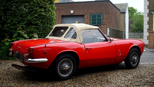 1968 Triumph Spitfire Mk. III For Sale (picture 17 of 131)