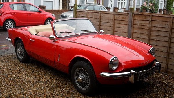 1968 Triumph Spitfire Mk. III For Sale (picture 3 of 131)