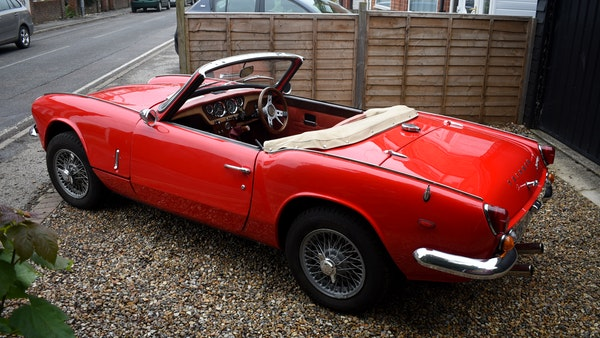 1968 Triumph Spitfire Mk. III For Sale (picture 10 of 131)