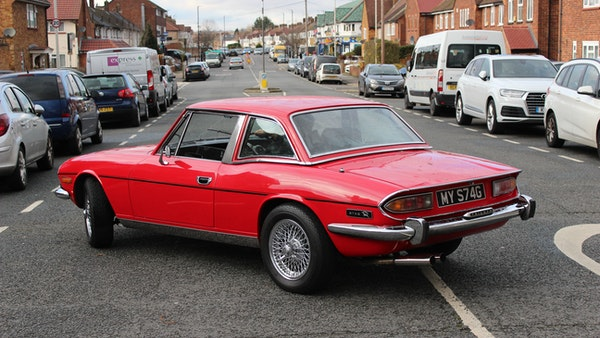 1972 Triumph Stag Convertible For Sale (picture 28 of 116)