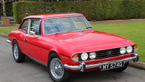 1972 Triumph Stag Convertible For Sale (picture 11 of 116)