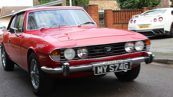 1972 Triumph Stag Convertible For Sale (picture 39 of 116)