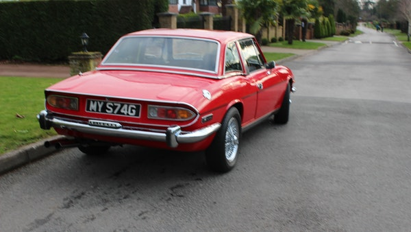 1972 Triumph Stag Convertible For Sale (picture 13 of 116)