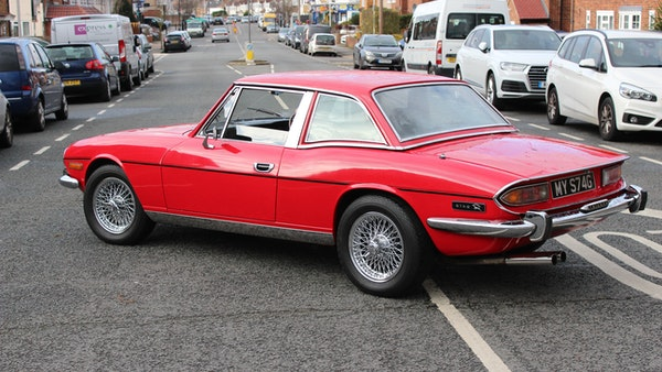 1972 Triumph Stag Convertible For Sale (picture 26 of 116)