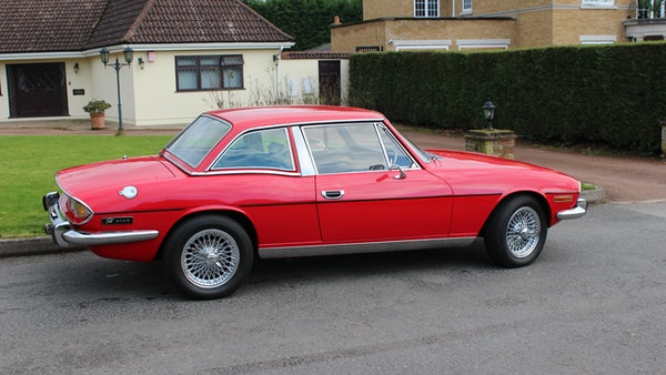1972 Triumph Stag Convertible For Sale (picture 12 of 116)