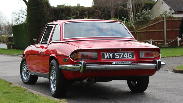 1972 Triumph Stag Convertible For Sale (picture 5 of 116)