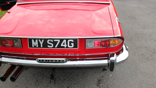 1972 Triumph Stag Convertible For Sale (picture 86 of 116)