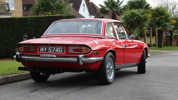 1972 Triumph Stag Convertible For Sale (picture 15 of 116)