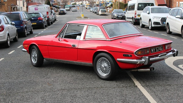 1972 Triumph Stag Convertible For Sale (picture 27 of 116)