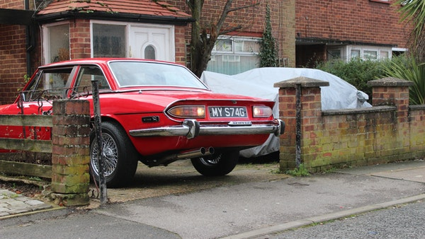 1972 Triumph Stag Convertible For Sale (picture 21 of 116)