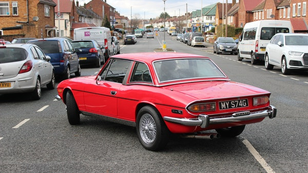 1972 Triumph Stag Convertible For Sale (picture 30 of 116)