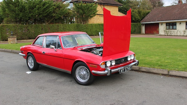 1972 Triumph Stag Convertible For Sale (picture 41 of 116)