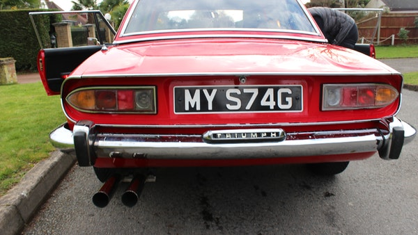 1972 Triumph Stag Convertible For Sale (picture 97 of 116)