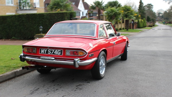1972 Triumph Stag Convertible For Sale (picture 10 of 116)
