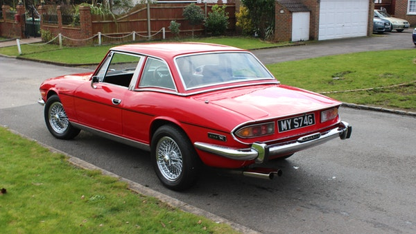 1972 Triumph Stag Convertible For Sale (picture 37 of 116)