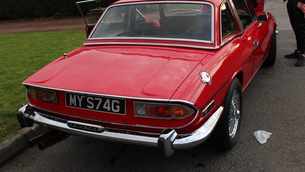 1972 Triumph Stag Convertible For Sale (picture 87 of 116)
