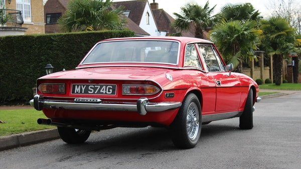 1972 Triumph Stag Convertible For Sale (picture 31 of 116)