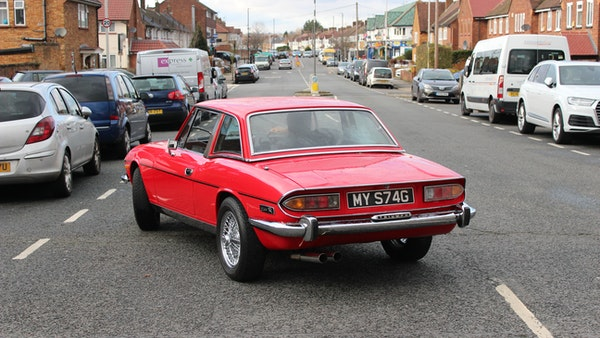 1972 Triumph Stag Convertible For Sale (picture 32 of 116)