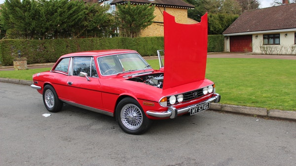 1972 Triumph Stag Convertible For Sale (picture 45 of 116)