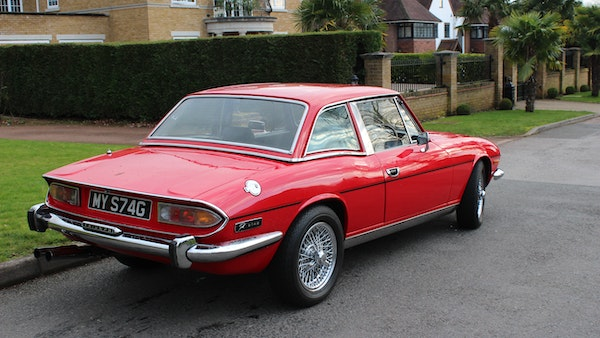 1972 Triumph Stag Convertible For Sale (picture 18 of 116)