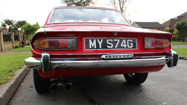 1972 Triumph Stag Convertible For Sale (picture 44 of 116)