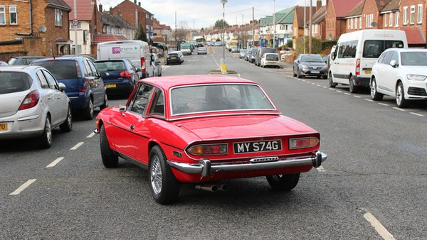 1972 Triumph Stag Convertible For Sale (picture 34 of 116)