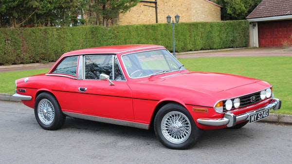 1972 Triumph Stag Convertible For Sale (picture 1 of 116)