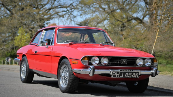 RESERVE LOWERED - 1972 Triumph Stag Convertible For Sale (picture 3 of 141)