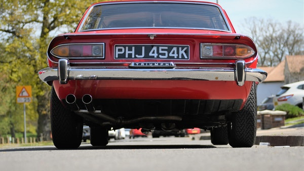 RESERVE LOWERED - 1972 Triumph Stag Convertible For Sale (picture 66 of 141)