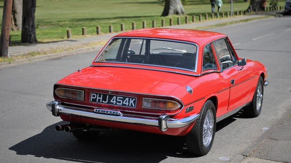 RESERVE LOWERED - 1972 Triumph Stag Convertible For Sale (picture 19 of 141)
