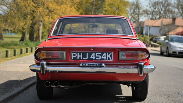 RESERVE LOWERED - 1972 Triumph Stag Convertible For Sale (picture 11 of 141)