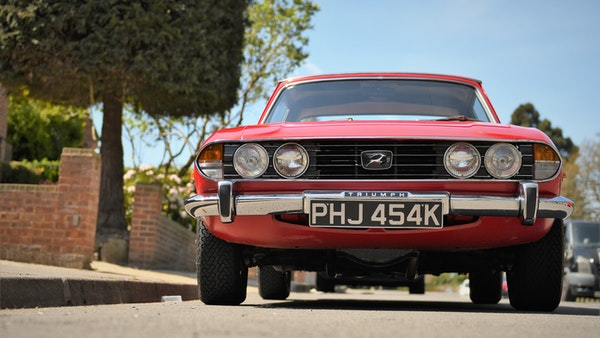 RESERVE LOWERED - 1972 Triumph Stag Convertible For Sale (picture 64 of 141)