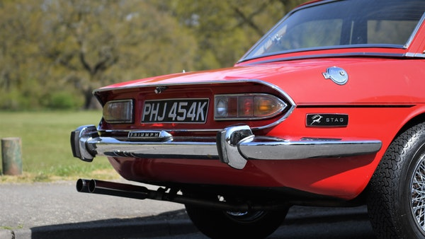 RESERVE LOWERED - 1972 Triumph Stag Convertible For Sale (picture 9 of 141)