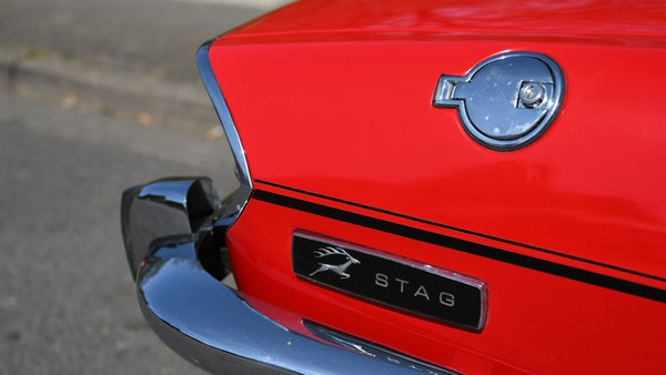 RESERVE LOWERED - 1972 Triumph Stag Convertible For Sale (picture 79 of 141)