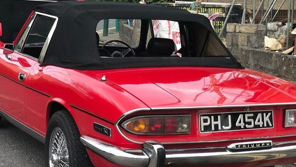 RESERVE LOWERED - 1972 Triumph Stag Convertible For Sale (picture 23 of 141)
