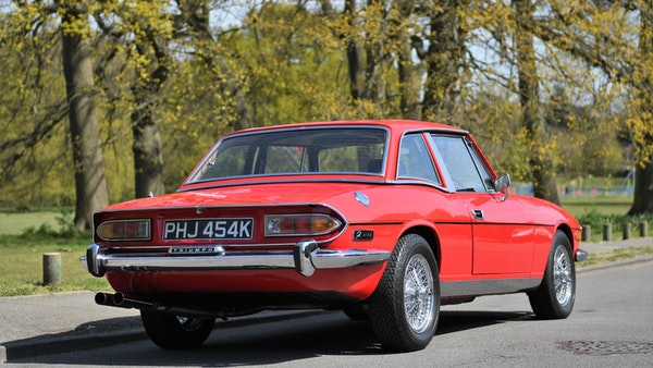 RESERVE LOWERED - 1972 Triumph Stag Convertible For Sale (picture 15 of 141)