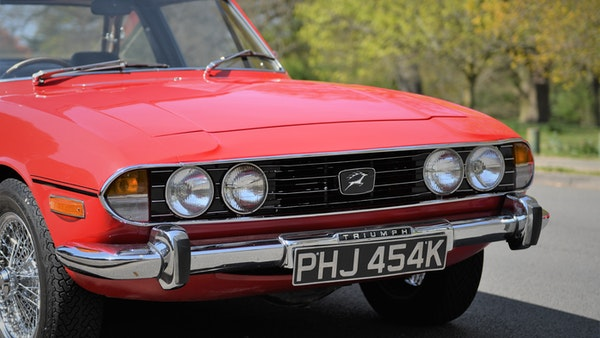 RESERVE LOWERED - 1972 Triumph Stag Convertible For Sale (picture 67 of 141)