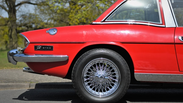 RESERVE LOWERED - 1972 Triumph Stag Convertible For Sale (picture 78 of 141)
