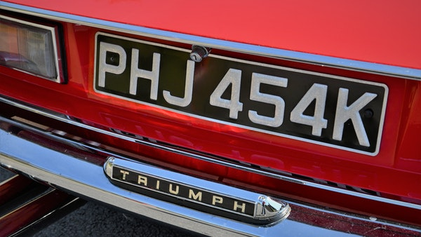 RESERVE LOWERED - 1972 Triumph Stag Convertible For Sale (picture 75 of 141)