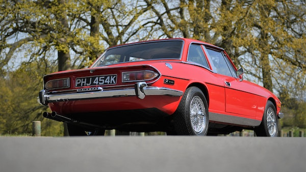RESERVE LOWERED - 1972 Triumph Stag Convertible For Sale (picture 8 of 141)