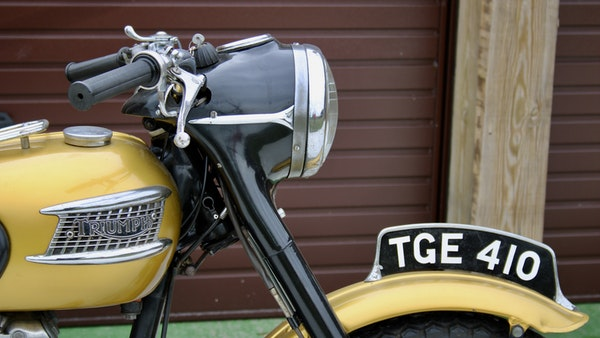 RESERVE LOWERED! -1957 Pre-Unit Triumph Thunderbird For Sale (picture 28 of 55)